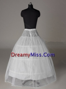 Two Layers Ball Gown Floor length Wedding Petticoat