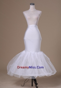 Popular Tulle and Elastic Woven Satin Mermaid Petticoat