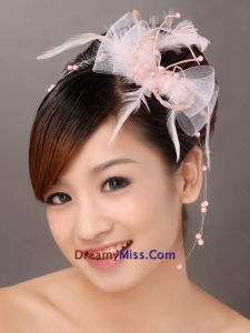 Populer Tulle Feather Special Occasion Fascinators
