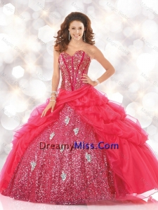 Sturning Sweetheart Sweet 16 Dresses with Sequins and Beading
