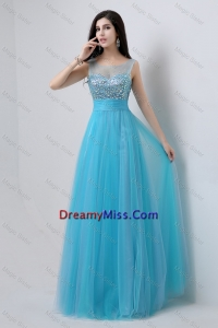Best Selling Sweetheart Tulle Prom Dresses with Beading