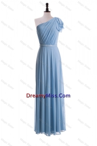 Beautiful Empire One Shoulder Prom Dresses for 2016