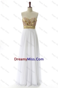 Traditional Sweetheart Custom Made Prom Dresses with Beading and Sequins