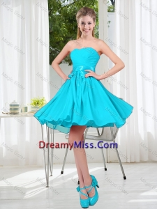 A Line Sweetheart 2016 Summer Dama Dresses