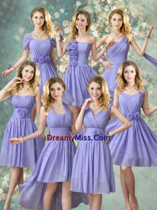 Fashionable Hand Made Flowers Prom Dresses with A Line