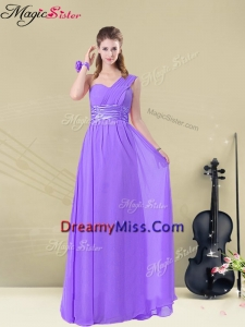 Lovely Empire Floor Length Dama Dresses for Fall