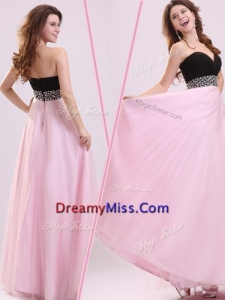 Formal Empire Sweetheart Beading Prom Dress in Baby Pink