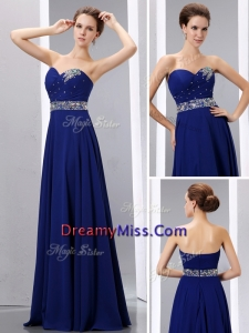Pretty Empire Sweetheart Prom Dress with Beading