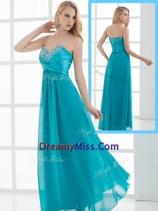 Romantic Arrivals Empire Sweetheart Beading Prom Dresses