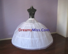 Hot Selling Big Puffy Ball Gown Floor length Petticoat