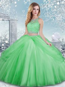 Top Selling Sleeveless Tulle Clasp Handle Vestidos de Quinceanera for Military Ball and Sweet 16 and Quinceanera