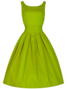 Clearance Sleeveless Ruching Lace Up Dama Dress for Quinceanera