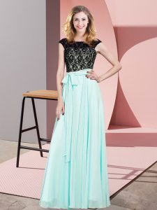 High Quality Sleeveless Lace Lace Up Homecoming Dress