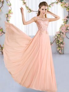 Comfortable Sleeveless Lace Lace Up Quinceanera Court Dresses