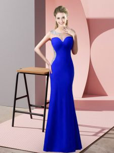 Admirable Sleeveless Beading and Pick Ups Zipper Prom Party Dress