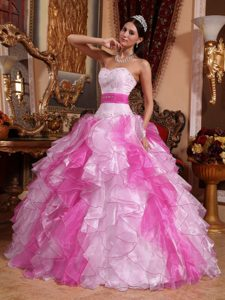 Ruched and Beaded Sweetheart Popular Quinceanera Gowns in Multi-color