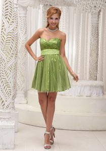 Lovely Sequin and Tulle Sweetheart Pageant Dresses for Juniors with Sash